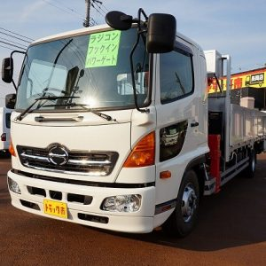 2016 HINO Ranger Crane Truck
