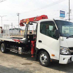 2018 HINO Dutro Crane Tow Truck