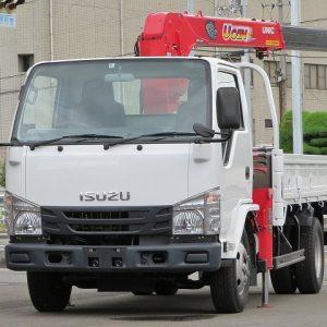 2015 ISUZU ELF Crane Truck