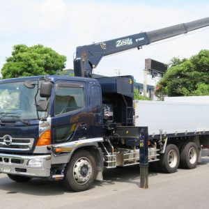 2012 HINO RANGER Crane Truck