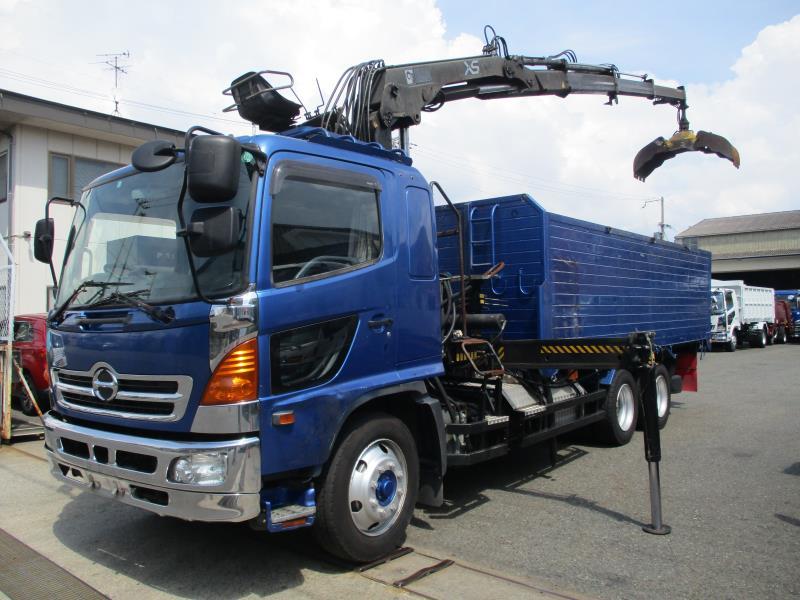 2004 HINO Ranger Crane Truck