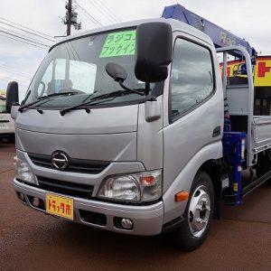 2015 HINO DUTRO Crane Truck