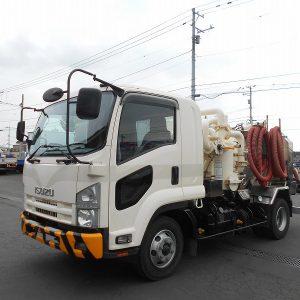 2009 ISUZU FORWARD Vacuum Truck