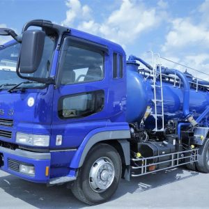 2007 FUSO SuperGreat Dustcart Truck