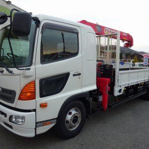 2013 HINO RANGER Crane Truck