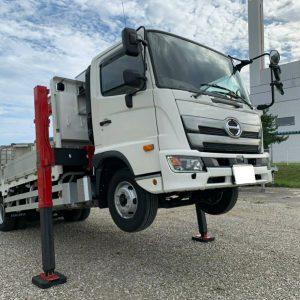 2019 HINO RANGER Crane Truck