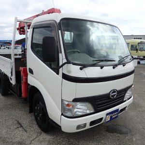 2007 HINO DUTRO Crane Truck