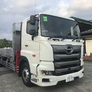 2019 HINO PROFIA Crane Truck