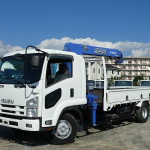2009 ISUZU FORWARD Crane Truck