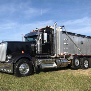 2019 Kenworth W900 Tri Axle Dump