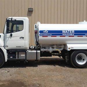 2019 HINO 268 Water Truck