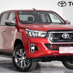 2018 Toyota Hilux Red Manual 4WD