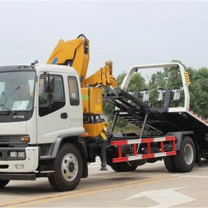 2019 ISUZU FTR Crane Loader Truck