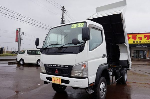 2006 Fuso Canter Dump Truck 4WD