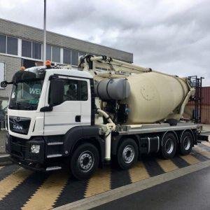 2019 MAN TGS 41.420 Concrete Mixer Pump