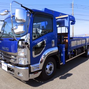 2019 ISUZU Forward Crane Truck