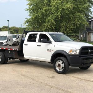 2018 RAM 5500 Flatbed Truck 4WD