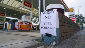 Read more about the article A Shortage Of Truck Drivers Has Pushed The UK Into A Fuel Crisis
